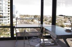 угловойой взгляд офиса Стоковая Фотография