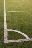 угловойой зеленый цвет травы поля стоковые изображения rf