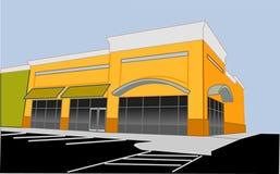 угловойой магазин розничной торговли Стоковая Фотография RF