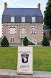 угловойой мертвый музей Нормандия s людей Франции Стоковые Фотографии RF