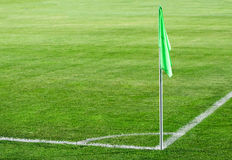 угловойой флаг Стоковое фото RF