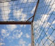 угловойой футбол цели Стоковая Фотография RF