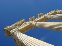 угловойые руины Греции стоковое фото rf