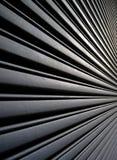 угловой взгляд металла гаража Стоковое Изображение RF