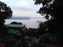 Угождая взгляд Рекы Brahmaputra стоковое фото