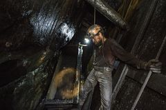 Угольная шахта Стоковые Изображения