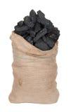 Уголь в большом вкладыше Стоковое Изображение RF