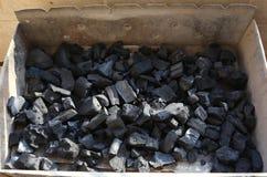Уголь гриля стоковые фото