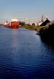 уголь поставляя корабль Стоковые Фото
