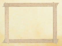 угол граници маскируя старую бумажную ленту Стоковые Фотографии RF