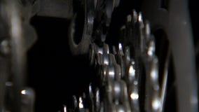 Угол заднего зазора шестерней велосипеда акции видеоматериалы