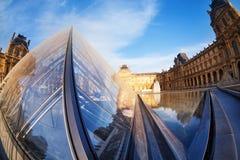Угол и дворец Pyramide du Жалюзи творческий стоковое фото rf