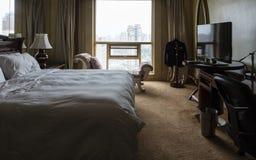 угол как выставка съемки комнаты интерьера гостиницы очень возможная к широко Стоковое Изображение RF