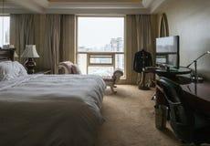 угол как выставка съемки комнаты интерьера гостиницы очень возможная к широко Стоковое Фото