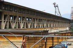 Угол покинутой фабрики в Гуанчжоу, Китае стоковое изображение rf