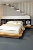 Угол спальни Стоковая Фотография RF