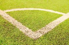 Угол футбола Стоковое фото RF