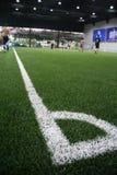 Угол футбола Стоковое Изображение