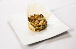 Угощайте champignons Стоковое фото RF