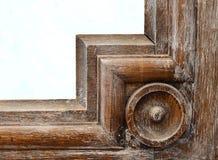Угол античной рамки Стоковая Фотография