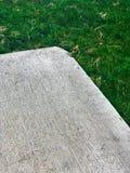 Угол бетонной плиты Стоковые Изображения RF