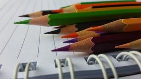 Угол вашей книги цвета Стоковые Изображения RF