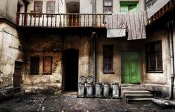 Угол в Zamosc стоковые фотографии rf
