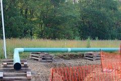 Угол газопровода Стоковая Фотография