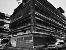 Угол здания Стоковое Изображение