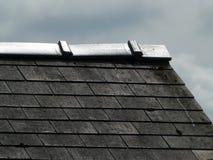 Угол крыши, в мрачном свете Стоковая Фотография RF