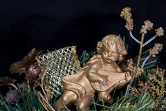 Угол на рождественской елке Стоковое фото RF