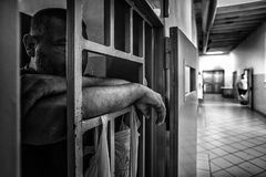 Уголовная психиатрическая больница Стоковые Фотографии RF