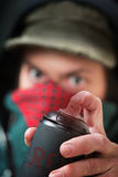 Уголовное отжимая сопло баллончика Стоковое Изображение RF