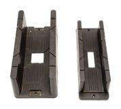 Угол отрезал размер инструментов коробок митры изолированный на белизне Стоковые Фото