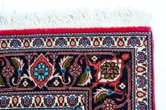 Угол персидского ковра Стоковая Фотография RF