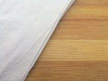 Угол салфетки стоковое фото