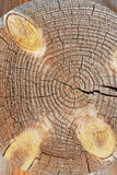 Угол старого деревянного дома Стоковые Фотографии RF