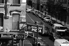 Угол улицы Челси стоковая фотография rf