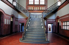 Угольная шахта Zollern - музей более interier стоковое изображение