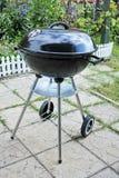 Уголь гриля барбекю стоковая фотография