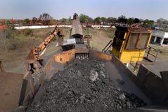 Уголь Индия Стоковое Изображение