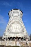 Уголь склада хранения к электростанциям Стоковая Фотография