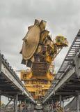 Уголь сортируя оборудование Стоковое Фото