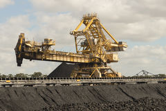 Уголь сортируя оборудование Стоковая Фотография