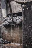 Уголь для поезда пара Стоковая Фотография RF
