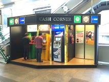Угол ATM Стоковая Фотография
