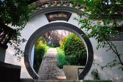 Угол Jinling сада Стоковые Изображения