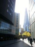 угол 306m неба съемки черепка scrapper london наземного ориентира hdr eu конструкции здания воля нового тонкая самая высокорослая Стоковое фото RF