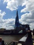 угол 306m неба съемки черепка scrapper london наземного ориентира hdr eu конструкции здания воля нового тонкая самая высокорослая Стоковая Фотография