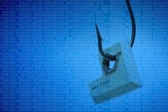 Угроза компьютера стоковая фотография rf